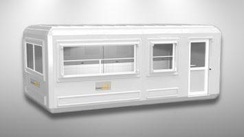 Polyester Kabin 270 x 510