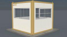 Güvenlik Panel Kabin 260 x 260