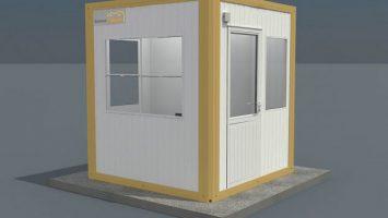 Panel Kabin Güvenlik 210 x 210