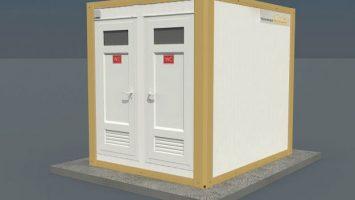 Panel Kabin Wc 210 x 260