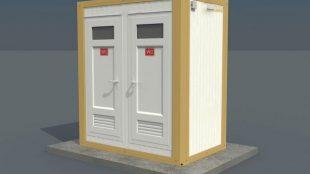 Panel Kabin Wc Duş 135 x 210