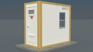 Panel Kabin Wc Güvenlik 135 x 260